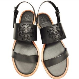 Tory Burch Melinda leather strappy flat sandals